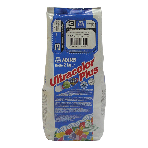 Затирка Mapei Ultracolor Plus №141 карамель(2кг)